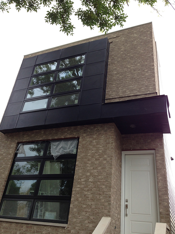 Black square roofing exteriors chicago premium roofing Siding square